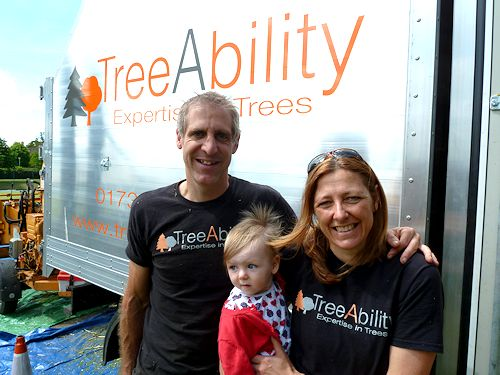 TreeAbility Nick Winram and Louise Curry